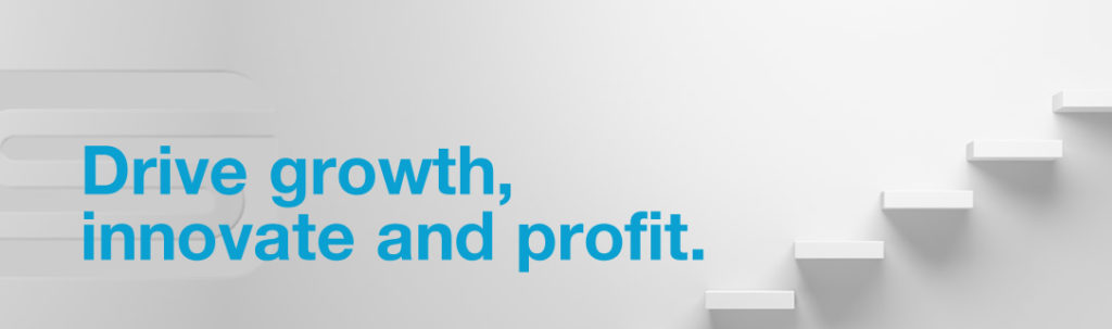 drive growth, innovate and profit.