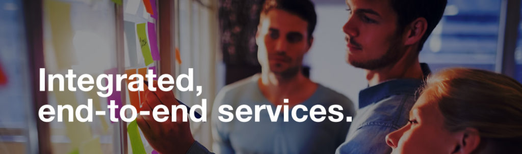 integrated, end-to-end services
